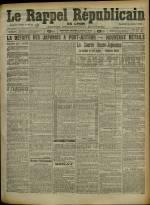 Le Rappel Républicain de Lyon, Deuxième Année - N°57