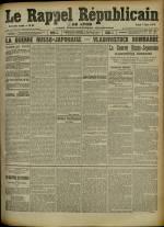 Le Rappel Républicain de Lyon, Deuxième Année - N°67