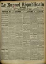 Le Rappel Républicain de Lyon, Deuxième Année - N°139