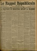 Le Rappel Républicain de Lyon, Deuxième Année - N°294