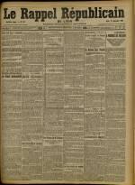 Le Rappel Républicain de Lyon, Deuxième Année - N°355