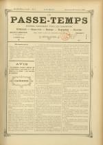 LE PASSE-TEMPS, Dix-Huitième Année - N°4