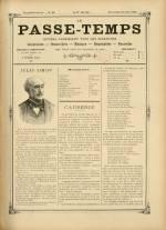 LE PASSE-TEMPS, Vingtième Année - N°24