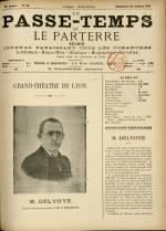 LE PASSE-TEMPS ET LE PARTERRE RÉUNIS, Vingt-cinquième Année - N°44