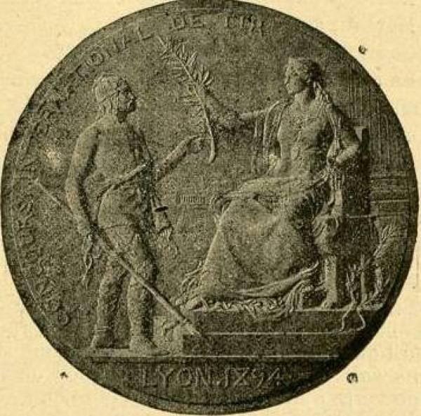 Médaille : concours national de tir