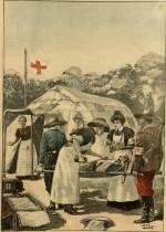 La guerre de l'Afrique Australe, une ambulance française de la croix-rouge
