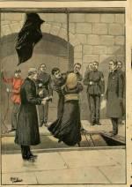 Pendaison d'une femme en Angleterre, Louise Masset exécutée dans la prison de Newgate