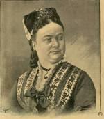 La maréchale de Mac-Mahon, décédée à Paris, le 19 février 1900