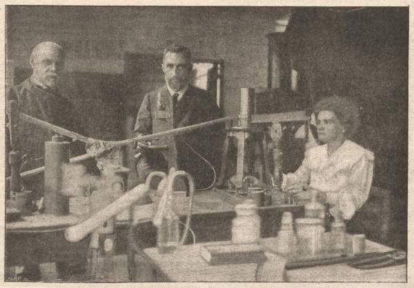 M. et Mme Curie
