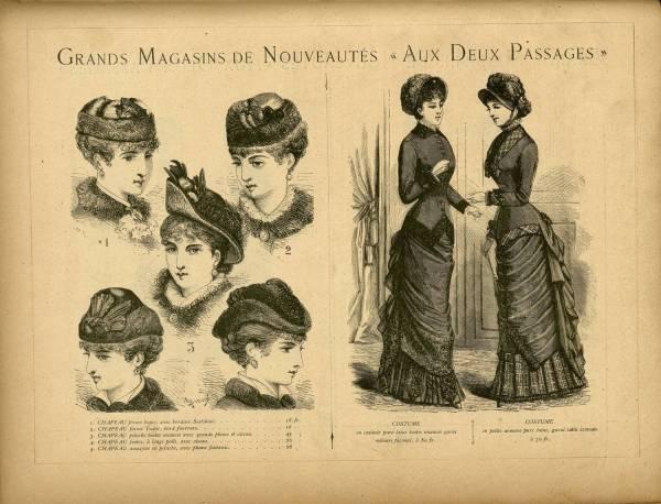 """Grands Magasins de Nouveautés """"Aux Deux Passages"""""""