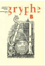 Gryphe, n°17