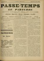 LE PASSE-TEMPS ET LE PARTERRE RÉUNIS : n°14, pp. 1
